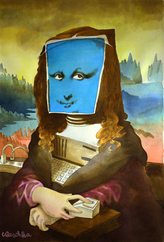 Editorial Digital Mona Lisa