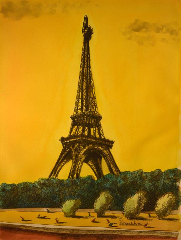 Editorial Eiffel Tower