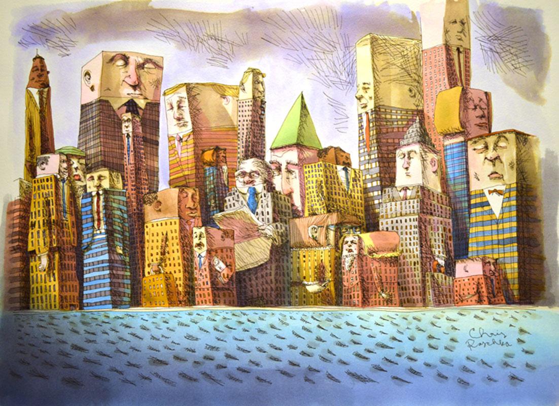 Editorial New York Skyline