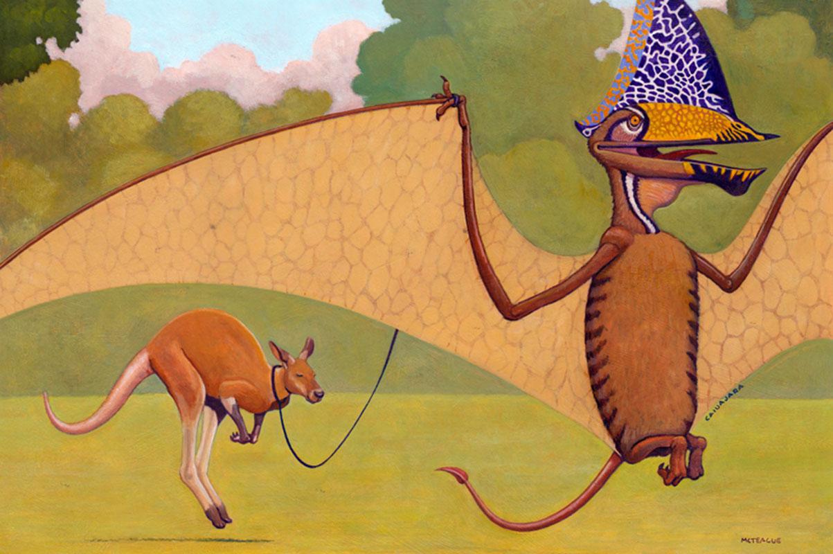 Lead Home A Kangaroo
