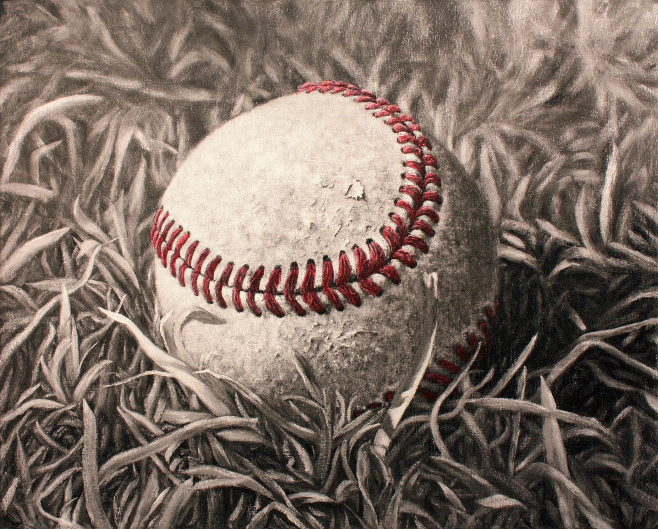 My Son's Baseball Handpainted