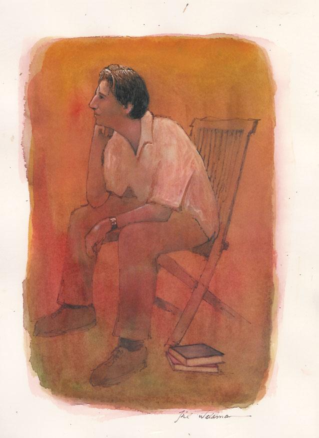 Aaron Sitting