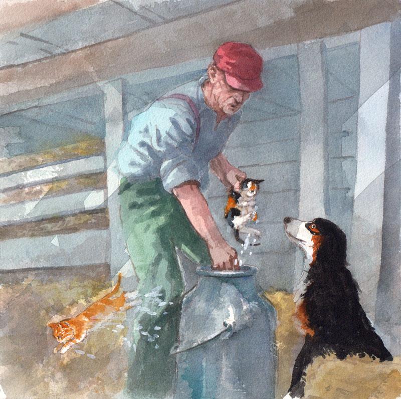 Saving Kitten