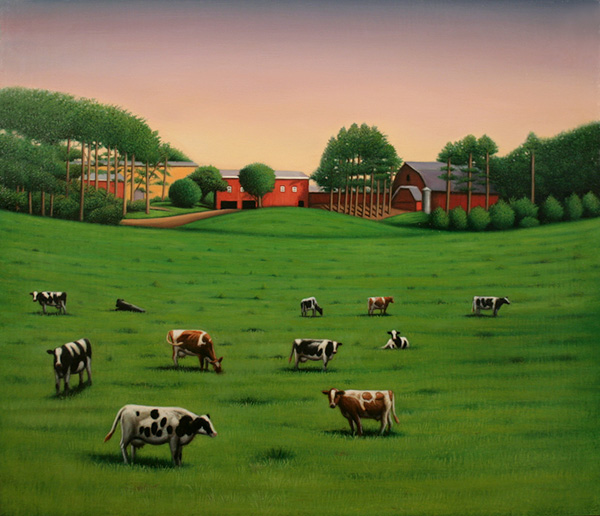 11 Cows at Smith Vocational