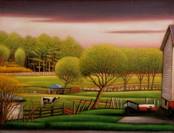 Cow Landscape III
