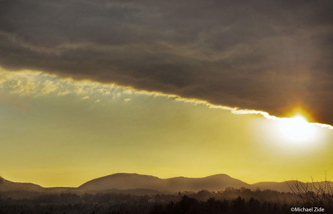 Black Cloud and Seven Sisters Range
