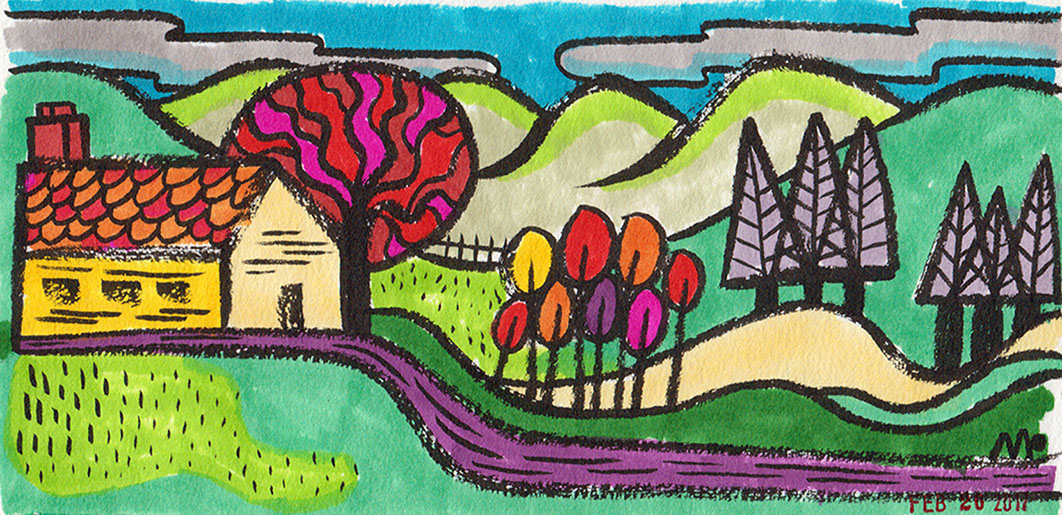 Pioneer Valley Landscape