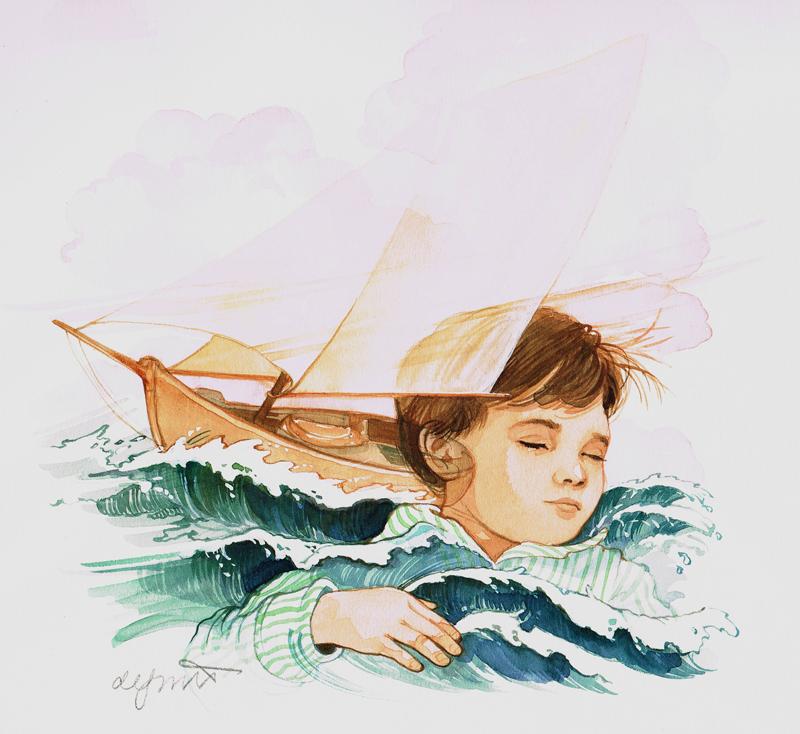 Dreaming Sailboat