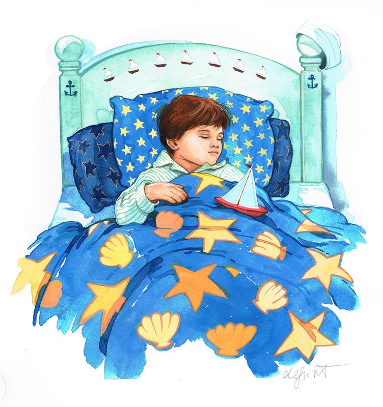 Sleeping With Sailboat