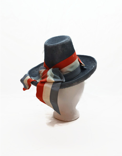 Hat with French Ribbon