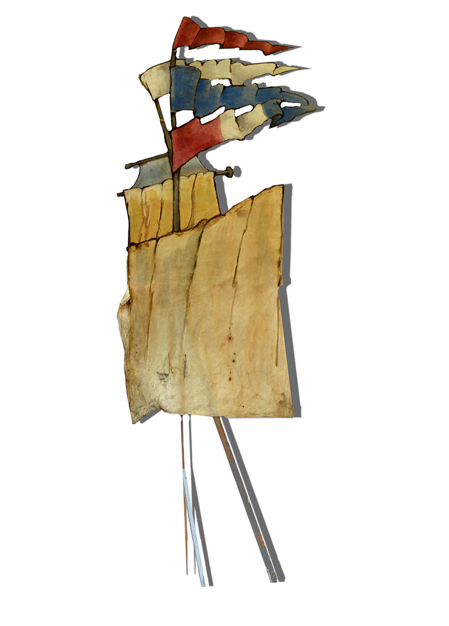 Mast and Sails 161×58