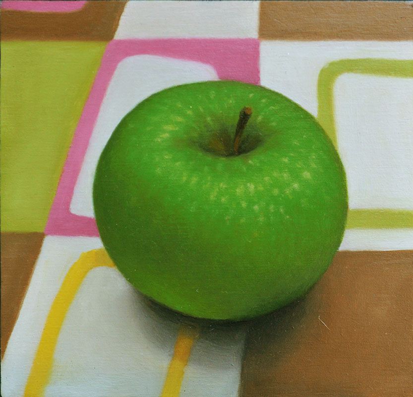 Fruits with Pinks – Green Apple