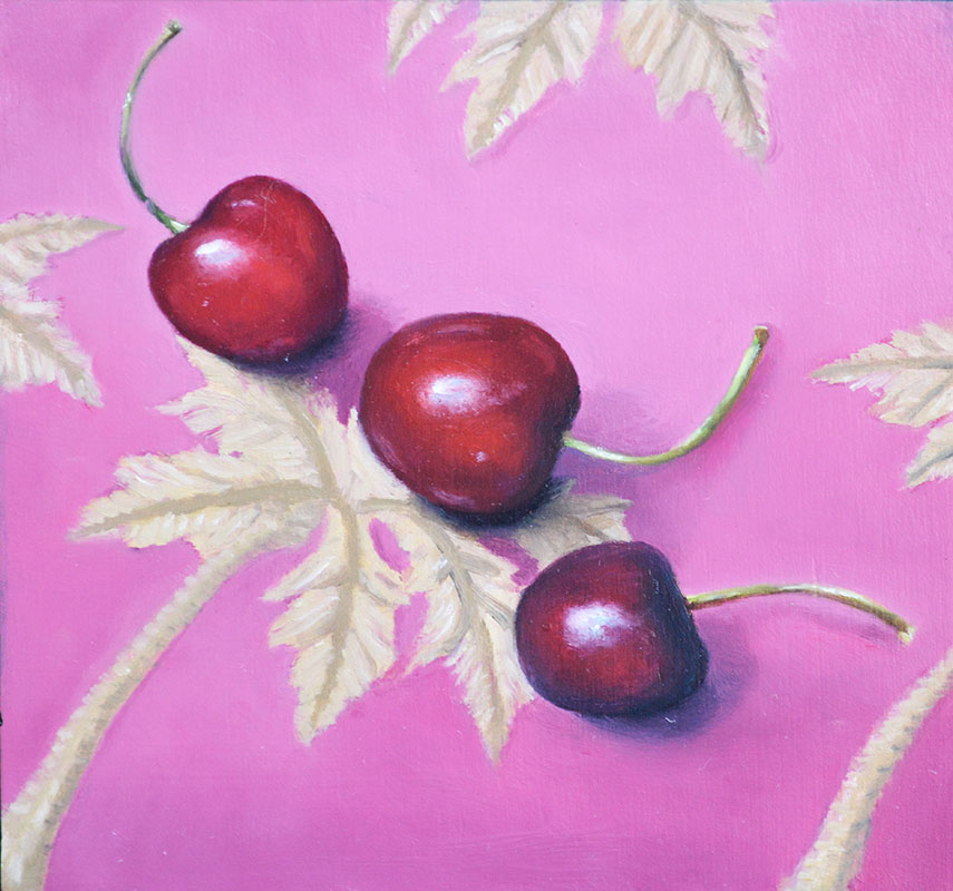 Fruits with Pinks Trilogy – Cherries