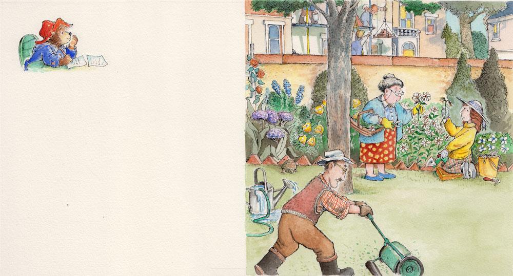 Paddington Liked the Brown's Garden