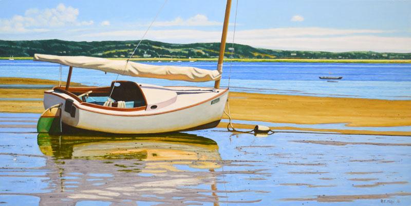Wellfleet At Low Tide II
