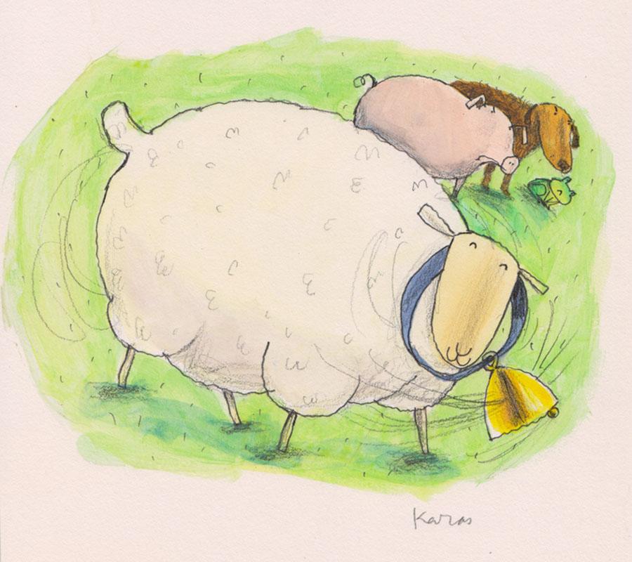 Sheep Likes Bell