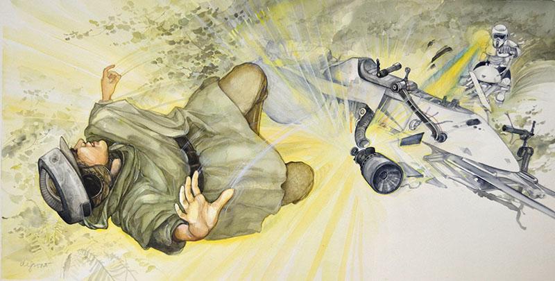 Leia's Bike Exploded