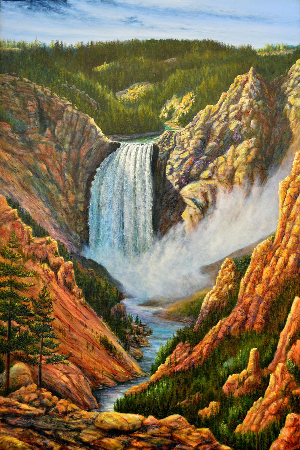 Natural Wonders (at Yellowstone Falls)