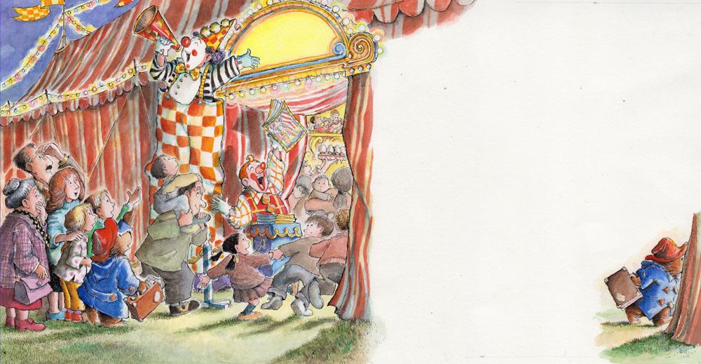 Paddington Sees the Circus Poster
