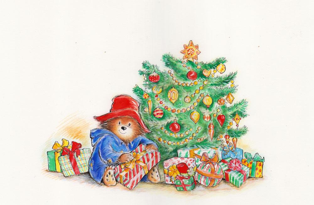 Paddington and the Christmas Surprise Cover