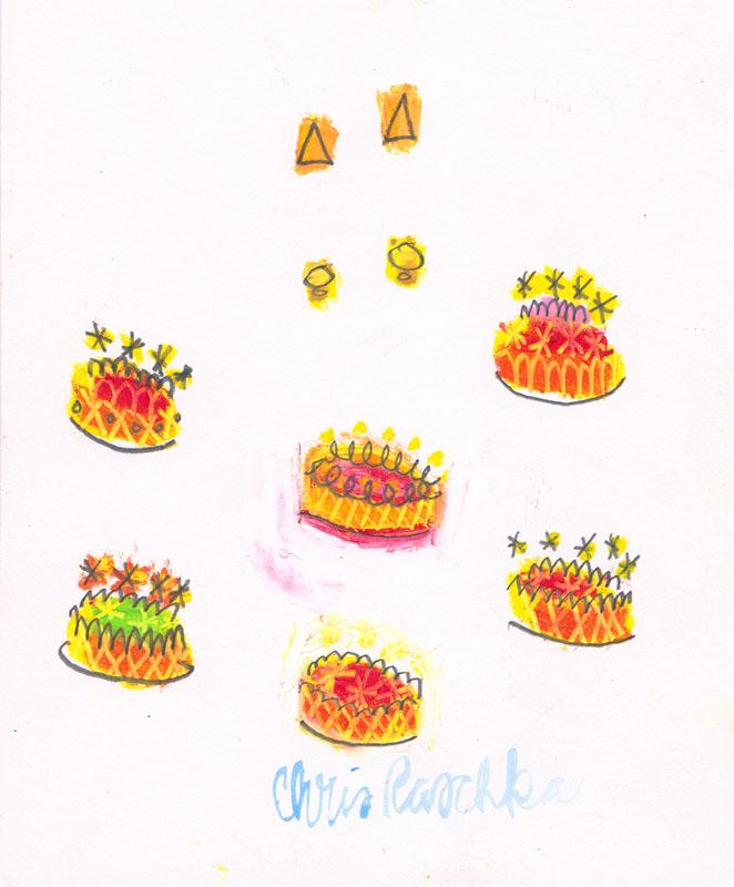 Birthday Cake Studies