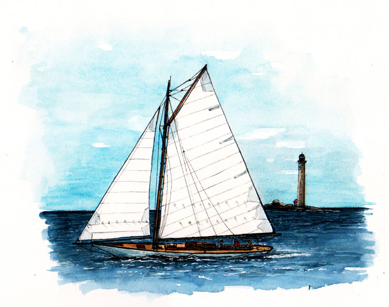 Quotable Sportsman Sailboat