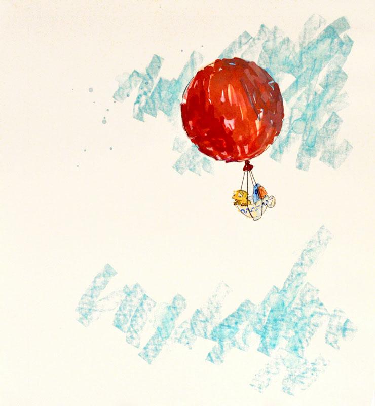 He And Bird Followed the Wind