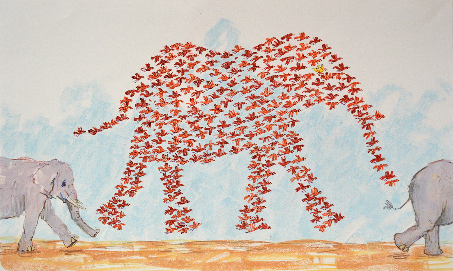 Elephant Birds