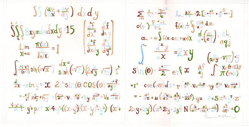 Equation End Pages