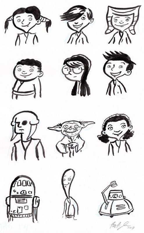 12 Characters Sheet
