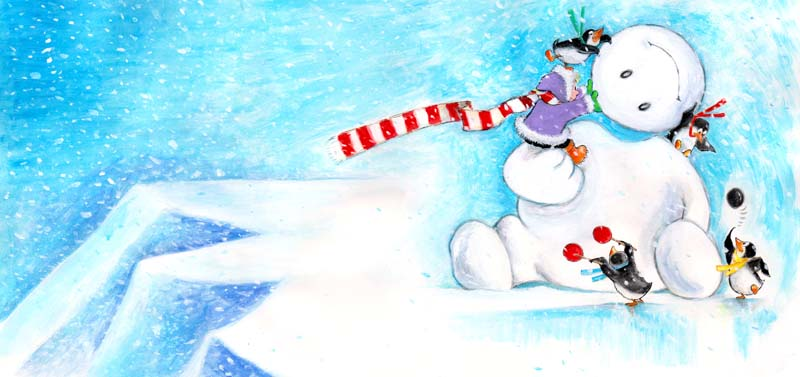 Be a Good Snow Giant