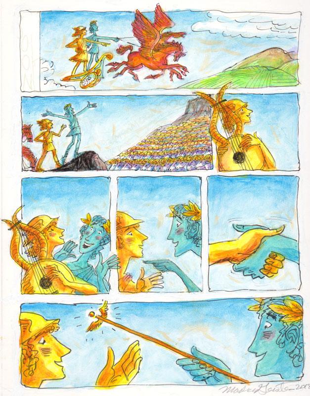 Apollo and Hermes Trade