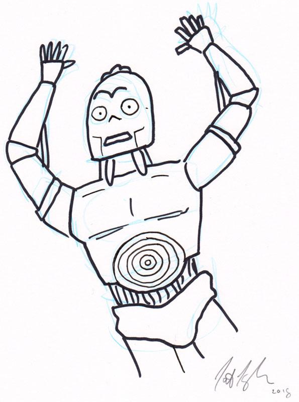 Shocked T3PO