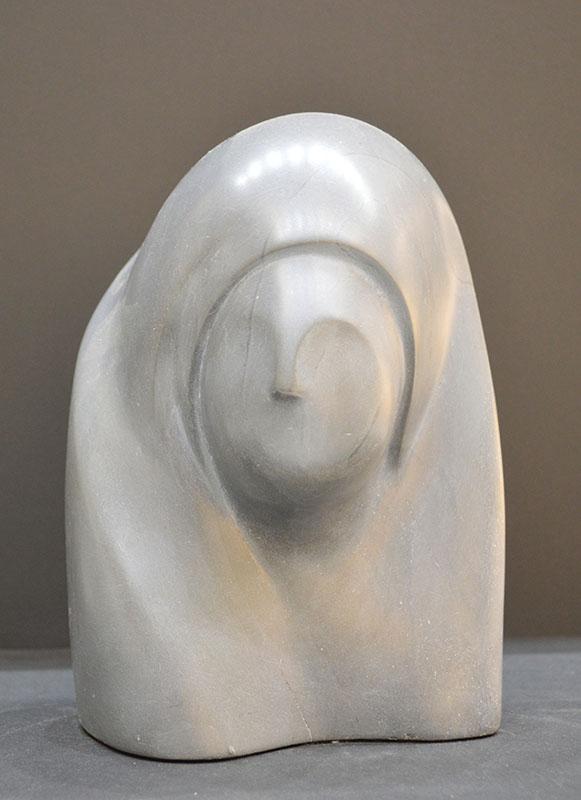 Woman in Cloak (grey)