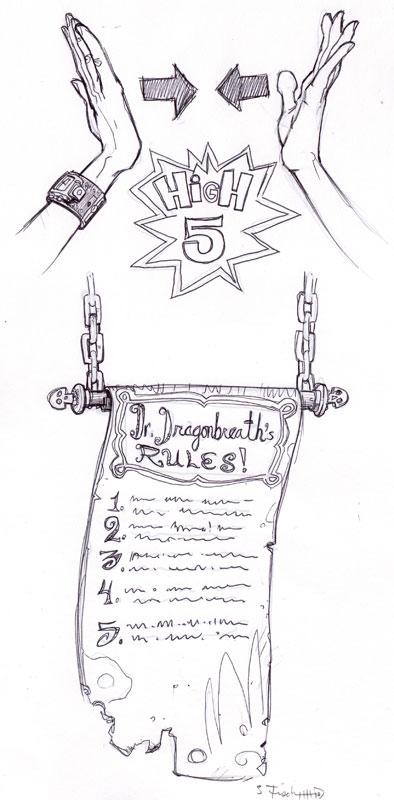 Dr. Dragonbreath's Rules