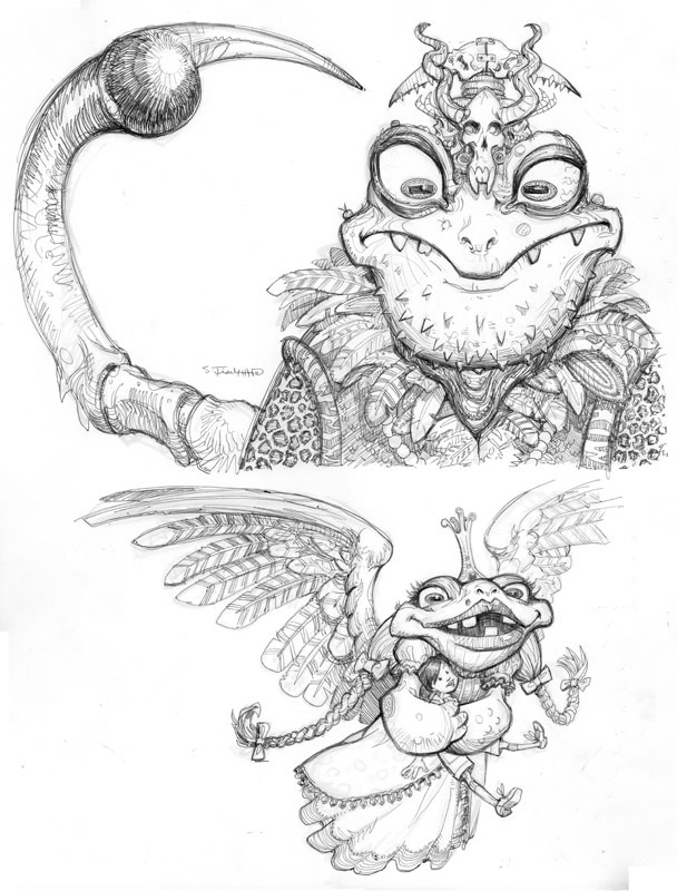 King and Queen Zog of the Frogs