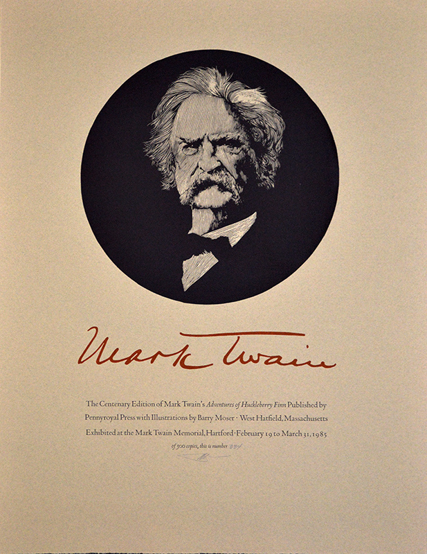 Mark Twain 26×20