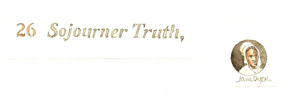 November Sojourner Truth