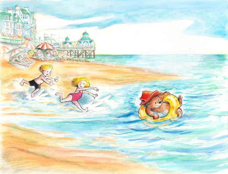 Paddington Floated in the Waves