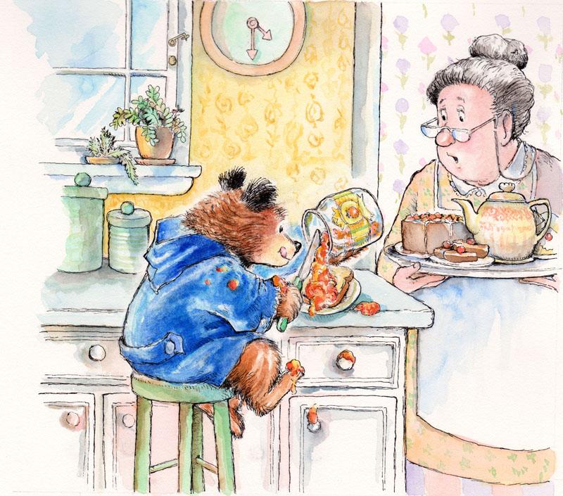 It's Tea with Marmalade