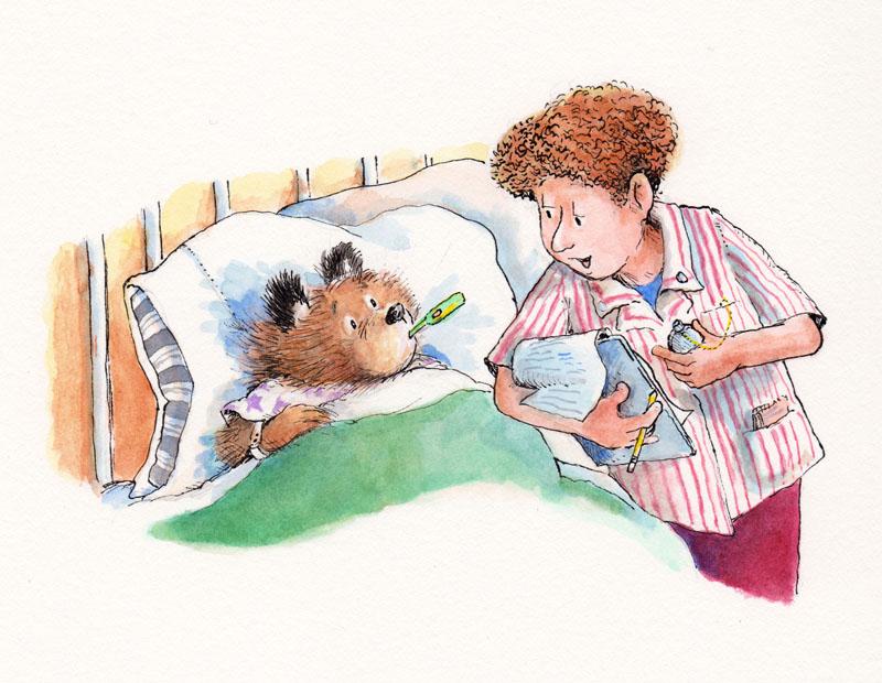 Paddington Bear Goes to the Hospital Title Page