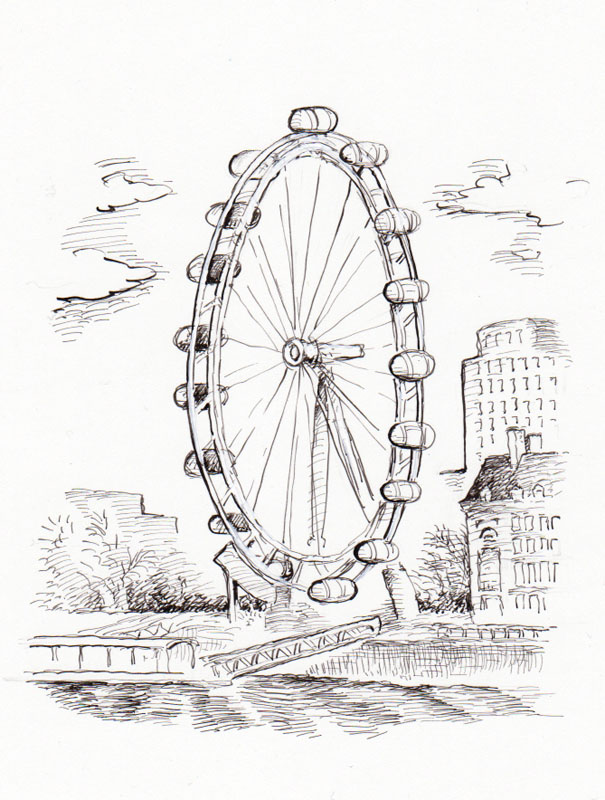 It's Called the London Eye
