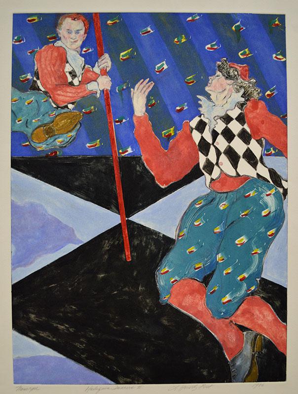 Harlequin Dancers II