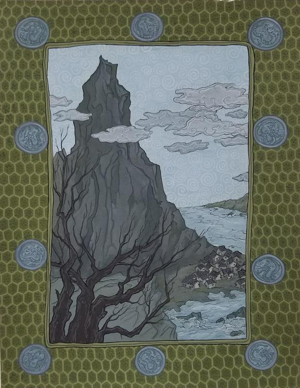 Fruitless Mountain 12.75×8.5