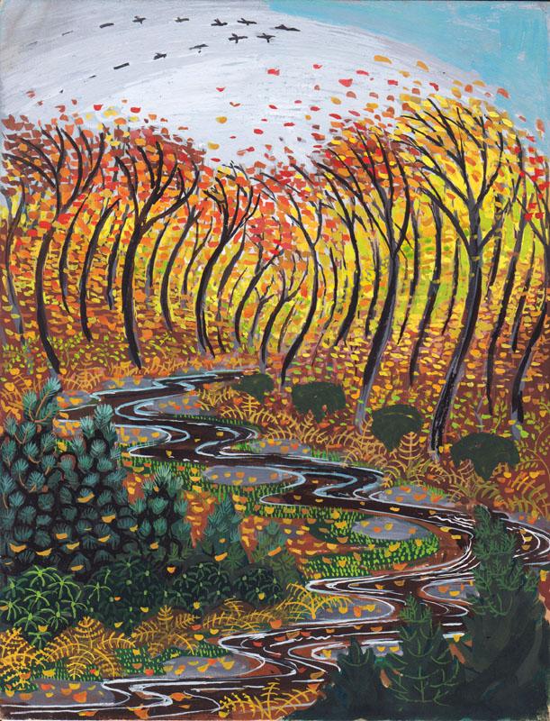 Stream in the Autumn