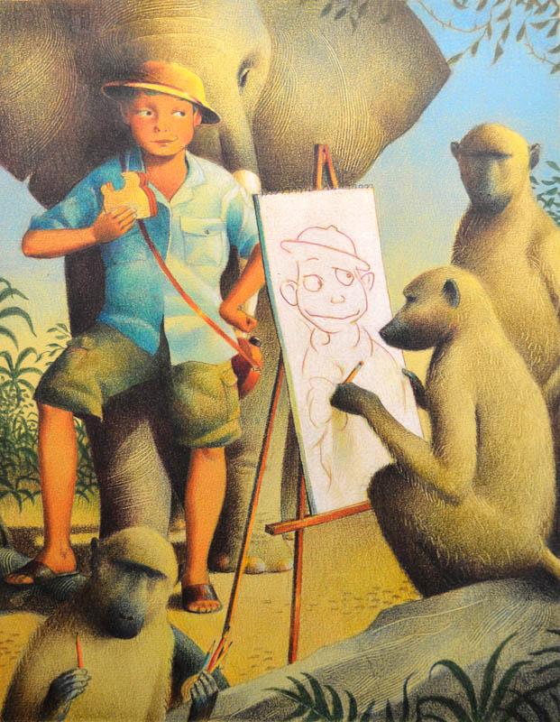 The Monkey Artist