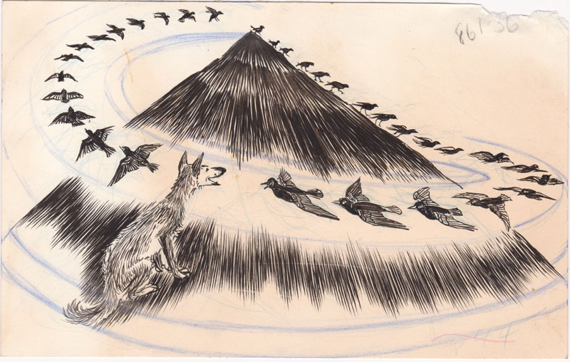 How the Coyote Flew with the Blackbirds