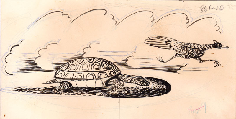 Once More He Passed the Turtle