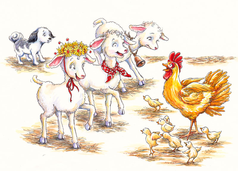 The Lambs and the Chicks