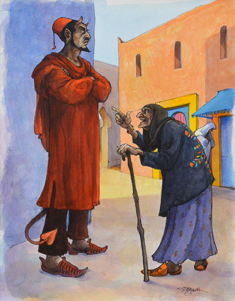 The Old Woman Outwits the Devil
